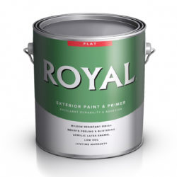 Royal Exteriors Flat House Paint acrylic latex Ace Paint