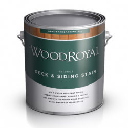 Пропитка фасадная WOOD Royal Deck Siding Semi-transparent Oil Stain