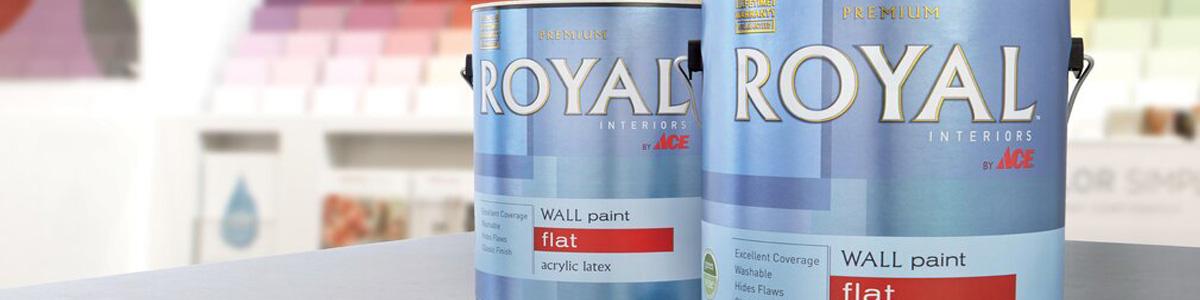 Американские пропитки Ace Paint Royal Interior Latex Flat