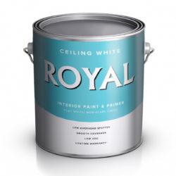 Краска для потолков глубокоматовая Royal Flat Ceiling White